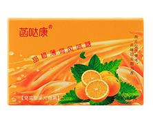 甜橙薄荷风味压片糖果批发代理招商